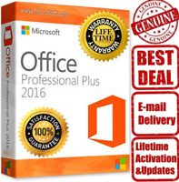 Microsoft Office 2016 Professional Plus 🔑 Key - Works worldwide Fast Delivery🔥