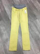 NWT Noppies slim 28 small lime maternity skinnny jeans MRSP $104.98