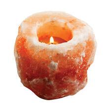 Himalayan Pink Salt 9.5cm Tealight/Candle Holder Natural Shape Home Decor