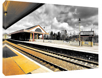 Aviemore station. Print or canvas print