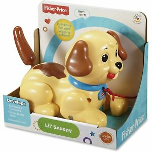 Fisher-Price Lil' Snoopy Pull Along Dog Single