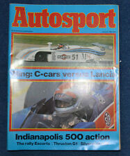 Autosport 3rd June 1982 Indianapolis 500, Nurburgring 1000kms, Thruxton F1 G1