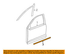 TOYOTA OEM 03-08 Corolla FRONT DOOR-Body Side Molding Right 7573102220