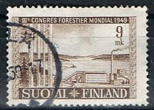 Finland 1949. World Forestry Congress. 9mk Used.