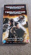 TERMINATOR SALVATION w/Slip Case DVD *NEW* UK Region 2