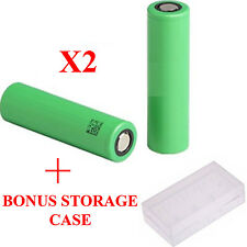 2 x SAMSUNG INR IMR 18650 High Drain Batterie + Gratuit Boîte de rangement