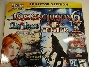 MYSTERY MASTERS COLLECTOR'S EDITION DARK SANCTUARIES 6 PACK DVD ROM