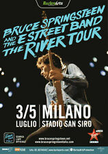Bruce Springsteen in Milan 3rd & 5th July 2016 Newspaper Programme + Guide