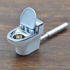 Mini Toilet Metal Pipe Tobacco Smoking Gift Accessories