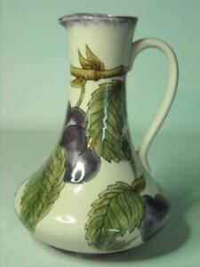 "1998/99 Moorcroft COBRIDGE Pottery 7.25"" Plum Jug 6 Photos  18.5cm"