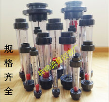 10-100L/h Glass Tube Water Flow Flowmeter Instrument #Q2836 ZX