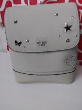 NWT GUESS BEVILLE Backpack Shoulder Bag Satchel stone