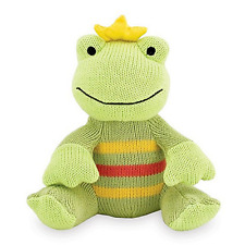 Rich Frog Cloth Baby Toy Green
