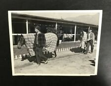 Original Seabiscuit 1939 Press Wire Photo Horse Kayak II Santa Anita Track Rare