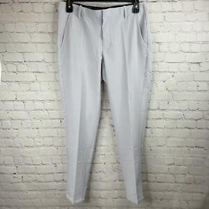 Nike Vapor Flex Slim Fit Golf Pants Sky Gray BV0273-042 Men's Size 40x30