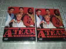 COFANETTO/BOX A-TEAM la Prima 1 Stagione uno  5 DVD Usato Raro COME NUOVO