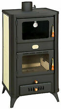 Wood Burning Stove Oven Boiler 23kw Log Burner Fireplace Cooking Prity FG W18 R