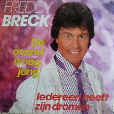 """7"""" 1986 SUNG NL VG++ FREDDY BRECK De avond is nog jong"""