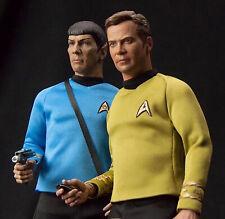 Star Trek TOS Kirk & Spock QMx Quantum Mechanix 1:6 IMPROVED 2nd Edition SEALED!