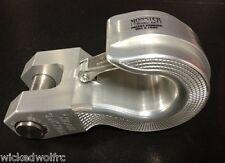 MONSTER HOOK MH-SW1S Silver Aluminum Monster Swivel Hook for Trailer Hitch