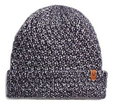 True Religion Unisex Metallic Watchcap Beanie in Navy