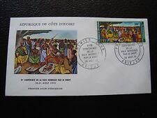COTE D IVOIRE - enveloppe 1er jour 26/8/1973 (B2)