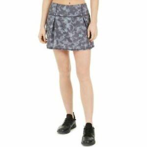 Ideology Womens Stadium Gray Camo RapiDry Built-in-Shorts Skort Size XS $39