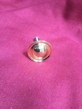 "New Single Knob, Drawer Pull 1.5"" Diameter Heavy Gold Metal"