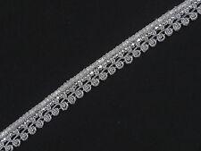 2 cm wide Braid Trim - Upholstery Edging Border Sew Crafts Gimp Costume  T380