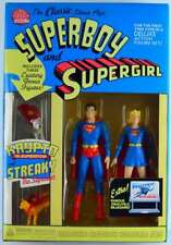Superboy and Supergirl DC Direct Deluxe Action Figure Set factory sealed