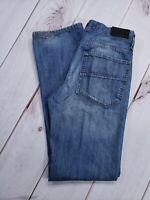 TONY HAWK Men's Slim Fit Dark Wash Faded Jeans Size 30 (Tag 32)  Inseam 32
