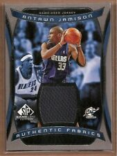 2004-05 SP Game Used Authentic Fabrics Basketball Card Pick