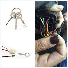 3Pcs Car  Electrical Terminal Wiring Crimp connector Pin Removel Key Tool Kit