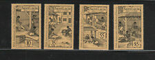 ST. LUCIA #706-709  1984  ENGRAVINGS    MINT VF NH O.G