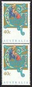 Australia Vintage 1993 Motif Christmas Stamp Booklet MH Brand Mi 1378 D