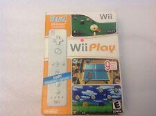 Wii Play Bundle w/ Bonus Wii Remote - Nintendo Wii Game