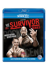 Official WWE Survivor Series 2011 Blu-ray (Pre-Owned)