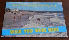 Vintage Postcard  Ocean City New Jersey Sun Surf