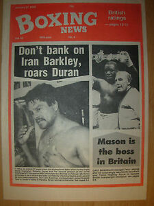 BOXING NEWS APRIL 7 1989 NIGEL BENN DEFEATS MBAYO WA MBAYO
