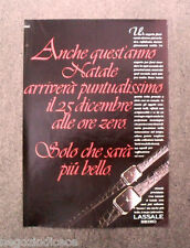 [GCG]  N945 - Advertising Pubblicità - 1985 - SEIKO LASSALE