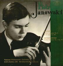 PIOTR JANOWSKI violin plays MOZART - POLISH MUZA LP NM