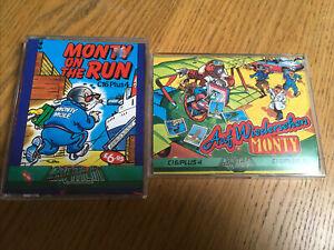 Commodore 16 Plus 4 Games Monty On Run, Auf Wiedersehen Monty