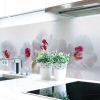 Küchenrückwand Orchidee Premium Hart-PVC 0,4 mm selbstklebend