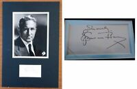 SPENCER TRACY hand signed AUTOGRAPH with BECKET COA / LOA