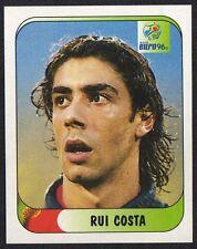 """EURO 96 STICKER - PORTUGAL - """" RUI COSTA """" No 293 BY MERLIN"""