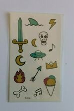 SMALL PICTURES TEMPORARY TATTOOS T204