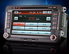 "AUTORADIO 7"" VW Clima Sensori Golf Passat Tiguan Touran Navigatore Gps Dvd Usb"