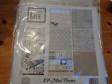 "SALE New Echo Park 12""x12"" Mini Theme Melody of LIfe"