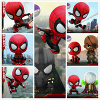 "Hot Toys COSB628-634 ""Spiderman Heroes Expedition"" COSBABY Mini Figure Toys Gift"