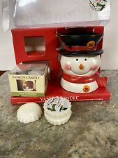 Yankee Candle Jack Frost Scented Tarts And Snowman Tealight Warmer Gift Box Set